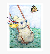 Pooky Swing Photographic Print