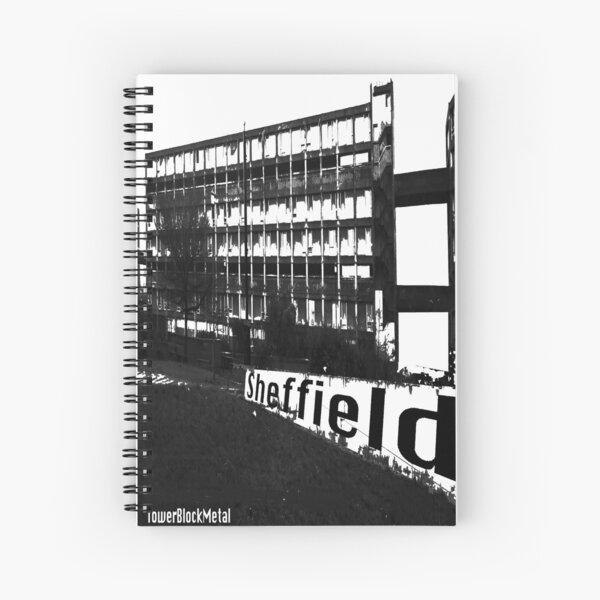 TowerBlockMetal Urban T Shirt 2 Spiral Notebook