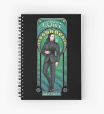 Mischief in black  Spiral Notebook