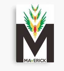 Maverick Flying Bird Canvas Print