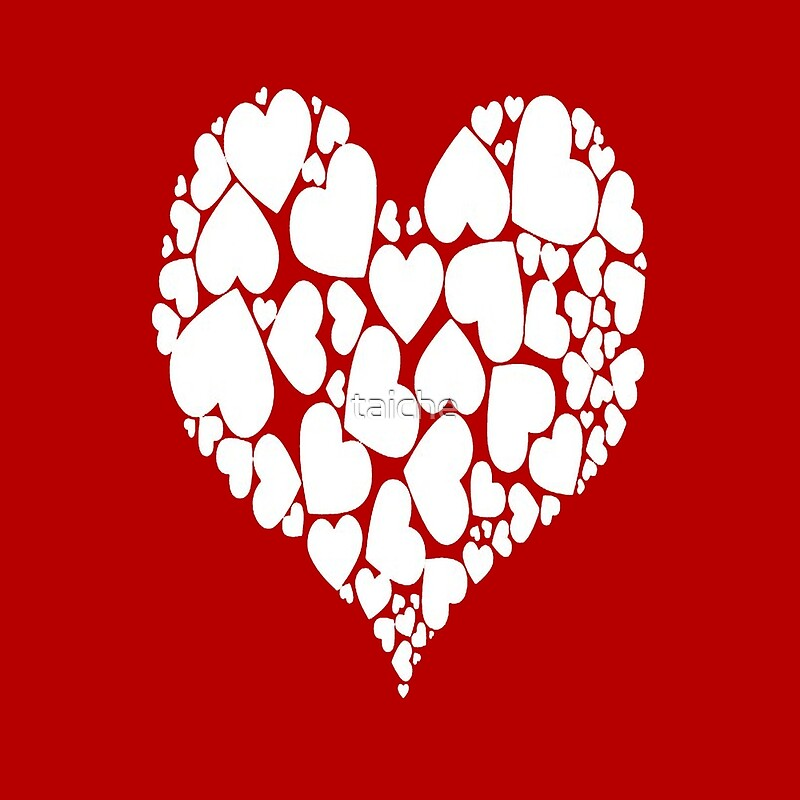 A Heart Full Of Love Red Valentine Hearts Within A Heart\