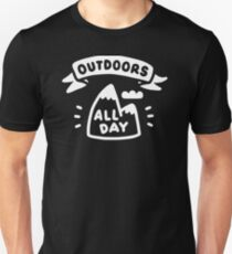 AWESOME LI580 Outdoors All Day Best Product T-Shirt