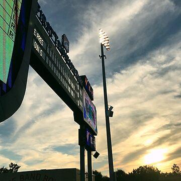 Nashville Baseball Nights by theforaner
