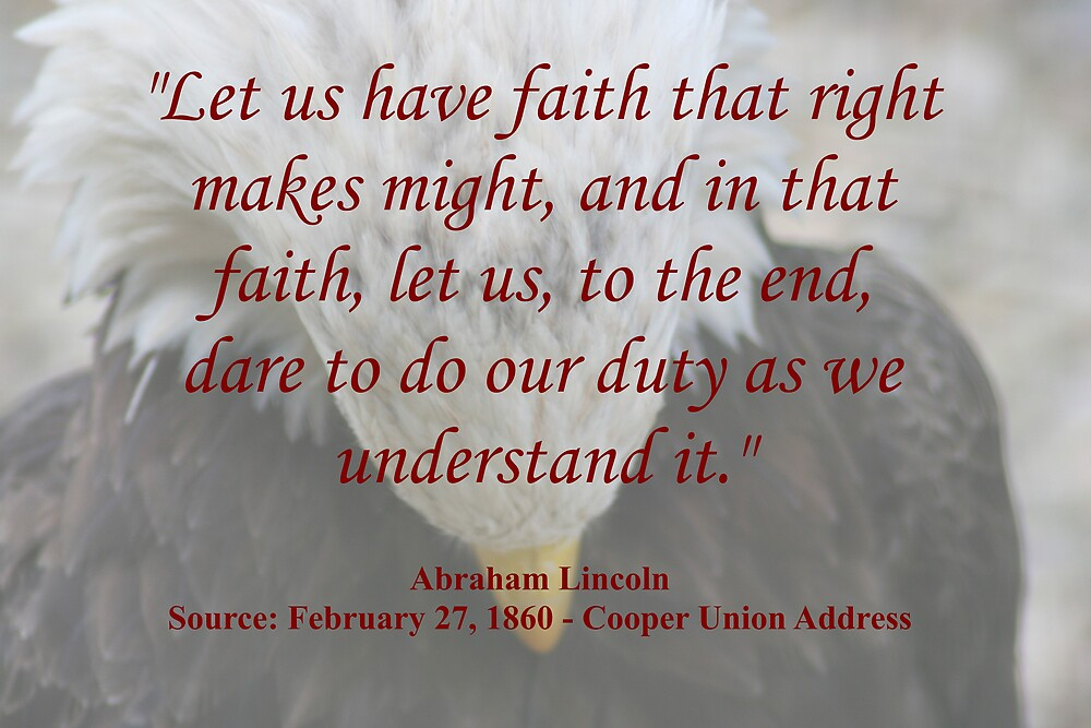 Lincoln quote by CardLady