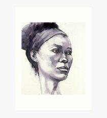 Portrait of Susannah Art Print
