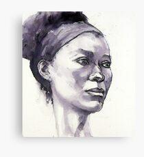 Portrait of Susannah Canvas Print