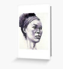 Portrait of Susannah Greeting Card