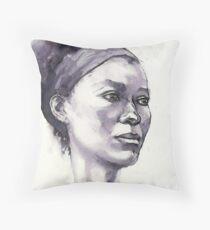 Portrait of Susannah Throw Pillow