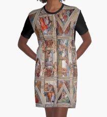 Sistine Chapel Graphic T-Shirt Dress