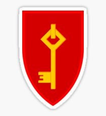 Royal Gibraltar Regiment (UK) - Tactical Recognition Flash Sticker