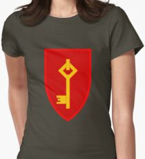 Royal Gibraltar Regiment (UK) - Tactical Recognition Flash Women's Fitted T-Shirt