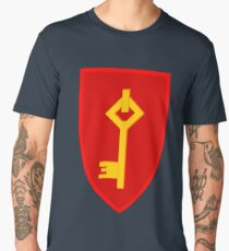 Royal Gibraltar Regiment (UK) - Tactical Recognition Flash Men's Premium T-Shirt