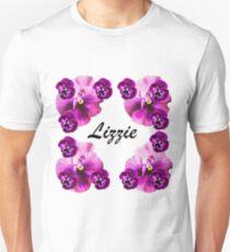 Personalised flowers Unisex T-Shirt