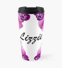 Personalised flowers Travel Mug