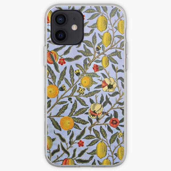 Fruit, a William Morris vintage pattern, popular iPhone Soft Case