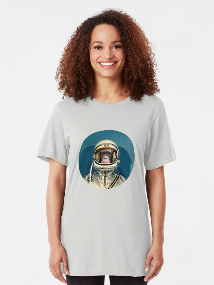 Alternate view of Mercury Chimp Slim Fit T-Shirt