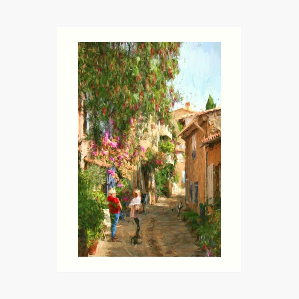 Grimaud France Art Print