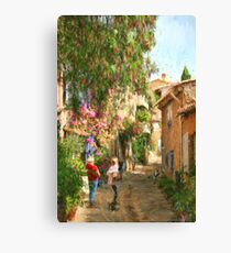 Grimaud France Canvas Print