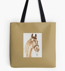A Thoroughbred Portrait Tote Bag