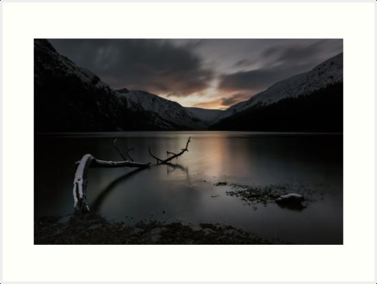 Glendalough Upper Lake by Shay Murphy