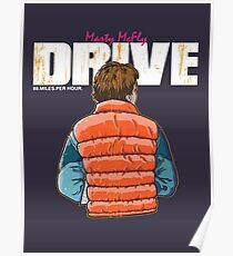 BTTF / Drive Poster