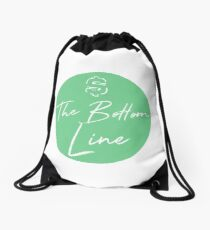 The Bottom Line Drawstring Bag