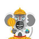 Hanuman Boxdoll by artkarthik