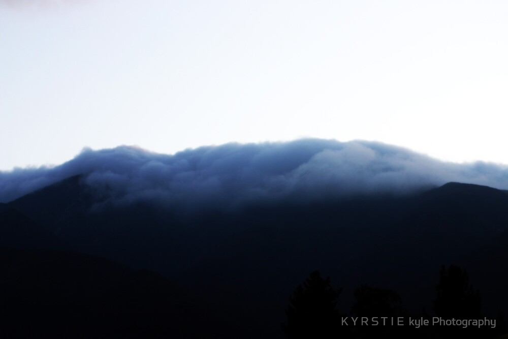 Descending Mountain by K Y R S T I E  kyle Photography