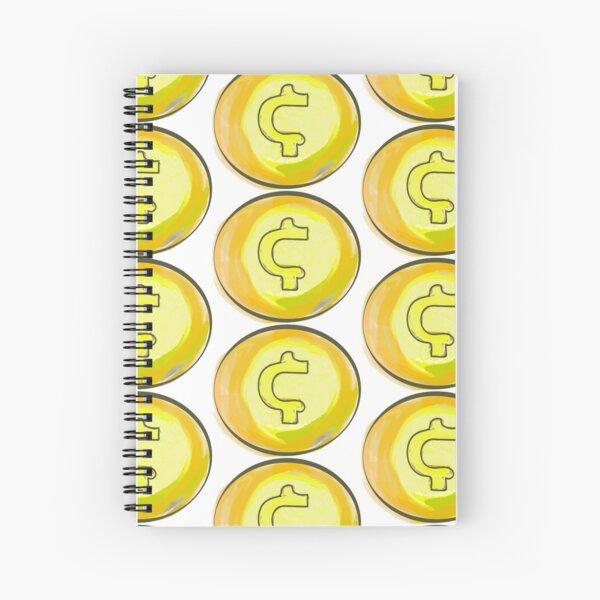 coin money Spiral Notebook
