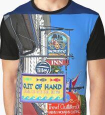 Lunenburg shop signs Graphic T-Shirt