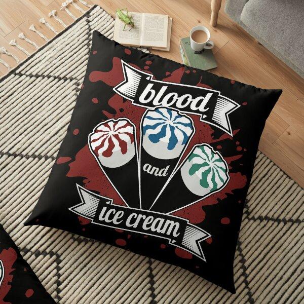 Blood & Ice Cream - Colour Floor Pillow