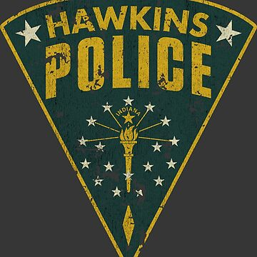 Hawkins Police Department Patch by jacobcdietz