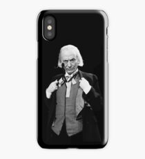 DOCTOR WHO WILLIAM HARTNELL iPhone Case/Skin