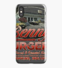 Benny's Burgers Location iPhone Case/Skin