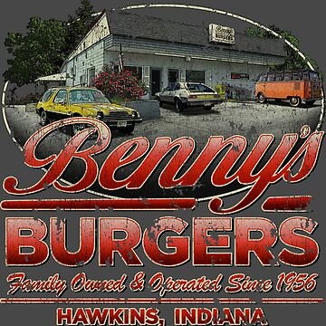 Benny's Burgers Location by jacobcdietz