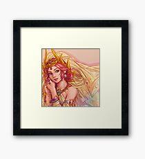 Final Fantasy I - Princess Sarah Framed Print