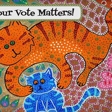 Mama Cat knows - Your Vote Matters! by KFStudios