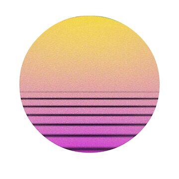Vapor Sunset by BelleInconnue