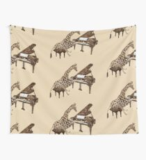 Musical Giraffe Wall Tapestry