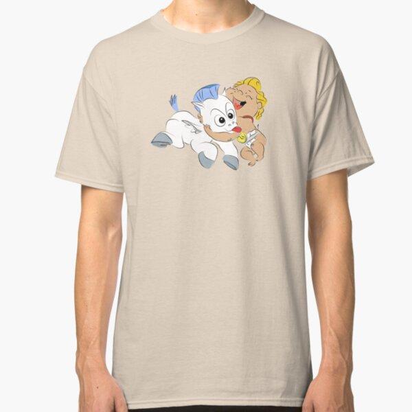 Baby Hercules and Pegasus Classic T-Shirt