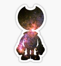 Galaxy Bendy Sticker