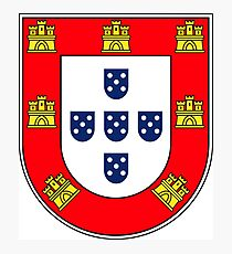 Portuguese shield Photographic Print