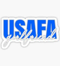 USAFA girlfriend Sticker