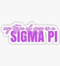Sigma Pi Sweetheart Sticker