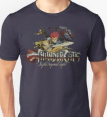ThunderCats Team Weinlese Slim Fit T-Shirt