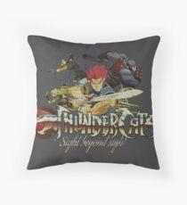 ThunderCats Team Vintage Throw Pillow