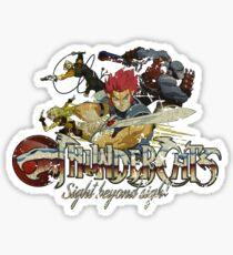 ThunderCats Team Vintage Sticker