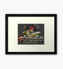 ThunderCats Team Vintage Framed Print