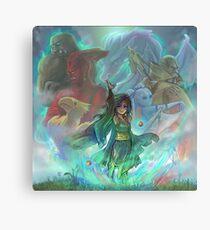 Final Fantasy IV - Rydia of Mist Canvas Print