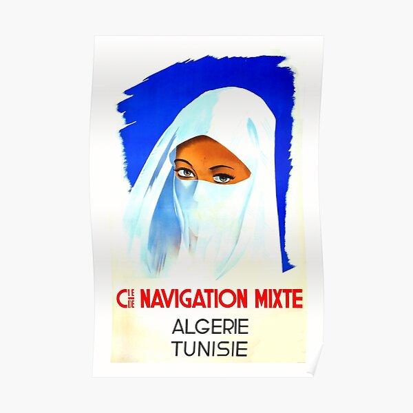 Algerie, Tunisie, Affiche de voyage Poster